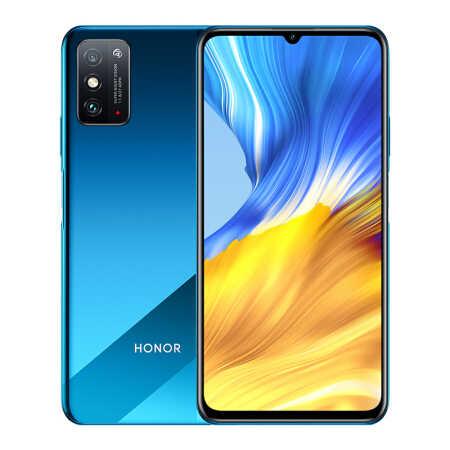 榮耀X10 5000mAh大電池6GB+128GB競速藍5G雙模手機
