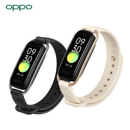 OPPO手環時尚版支持NFC智能運動手環星空黑/219元