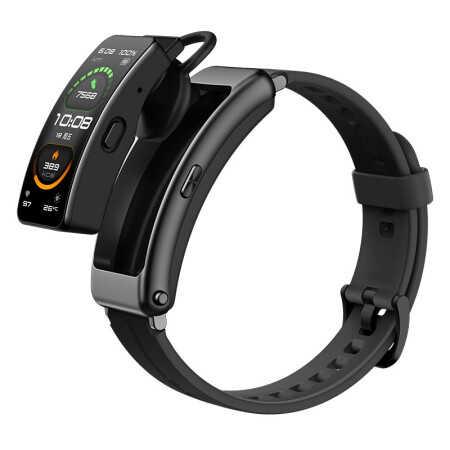 華為手環B6運動智能手環藍牙耳機運動款曜石黑/949元