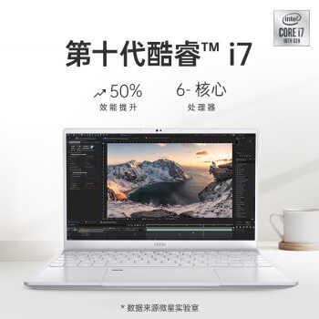微星尊爵Prestige14 14英寸笔记本(i7-10710U、16GB、512GB、GTX1650 Max-Q)