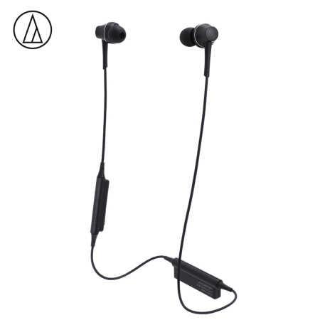 铁三角ATH-CKR75BT CKR75BT蓝牙入耳式耳机 黑色