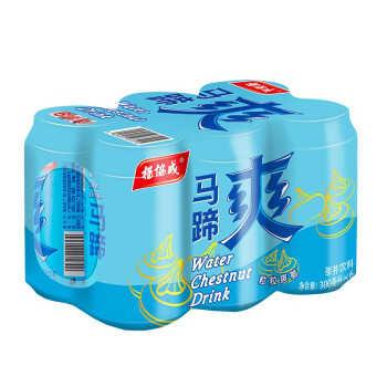 杨协成 马蹄爽 荸荠饮料 300ml*6罐